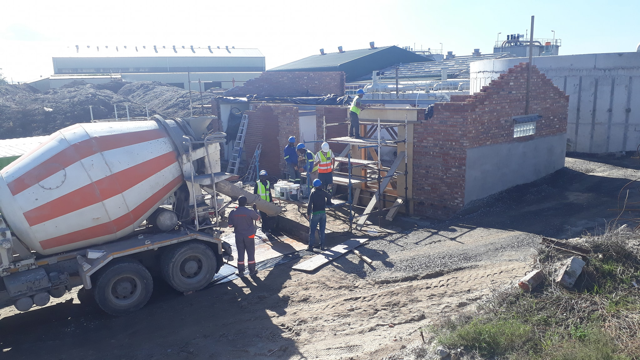 Various Building Work at Bellville Waste Water Treatment Plant